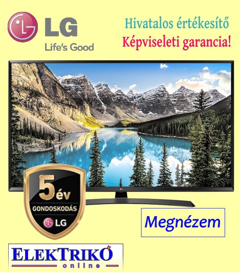 LG 49UJ634 Ultra HD 4K TV