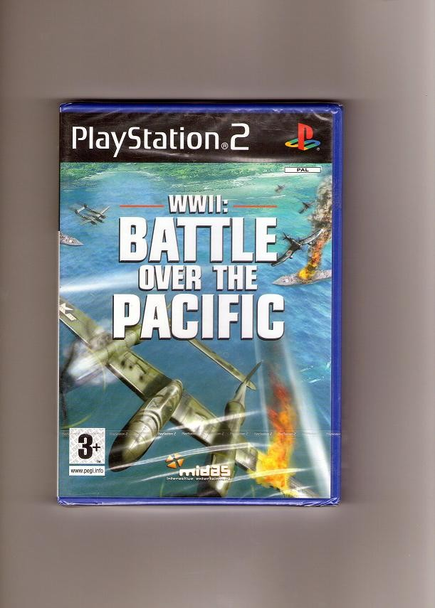 PS2 Játék WWII: Battle over the pacific