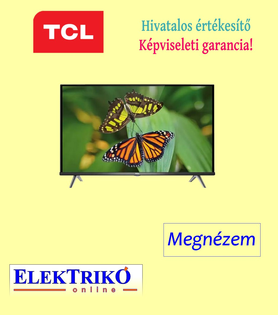TCL 32S615 HDR TV , Android TV funkcióval