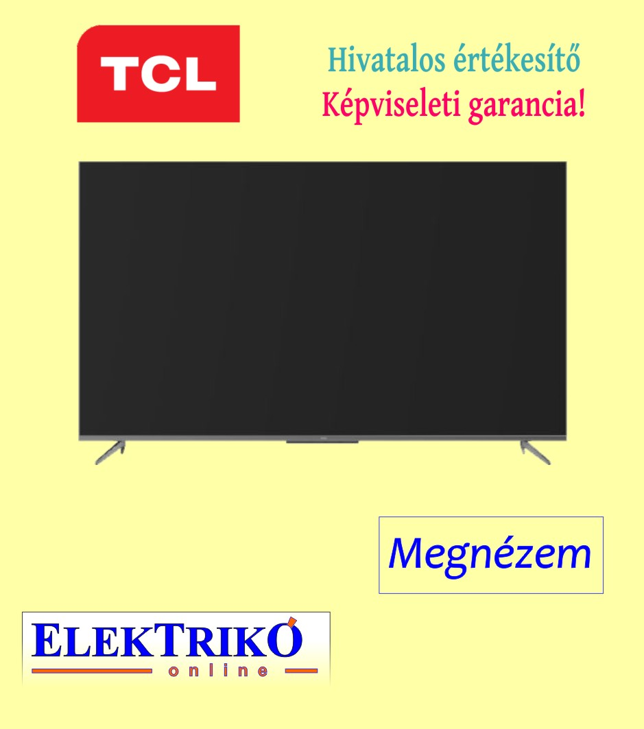 TCL 55P715 Ultra Slim 4K TV , HDR 10 , Android TV